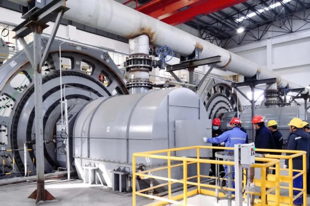 北油工程:榆能化甲醇联合装置磨煤机产出合格煤浆