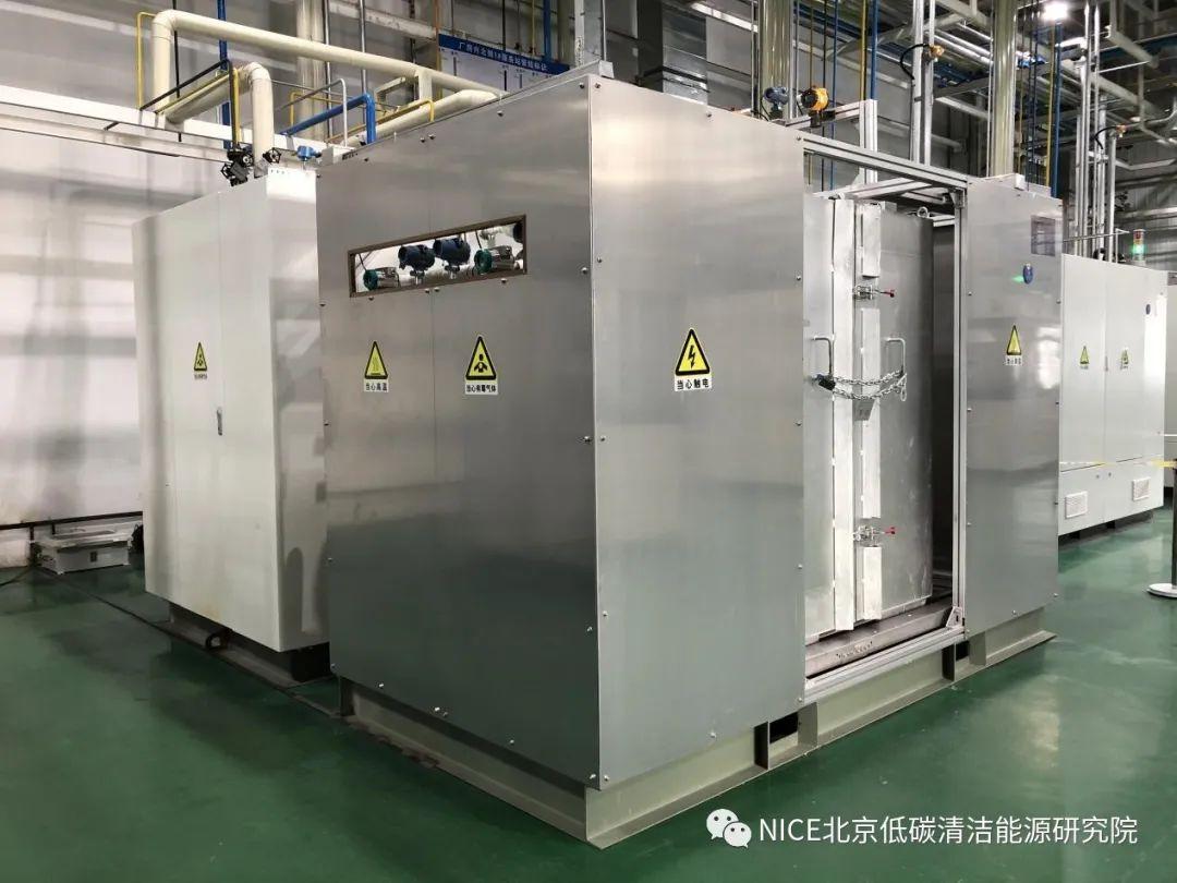 低碳院自主研发20kW级IGFC系统试车成功