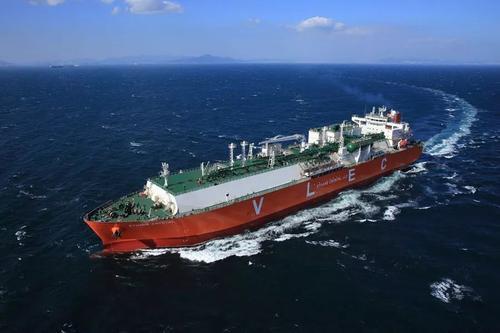 卫星石化 全球最大VLEC满载乙烷 从美国返回连云港